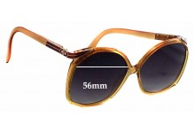 Christian Dior 2104 Replacement Sunglass Lenses - 56mm Wide