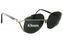 Christian Dior 2250 Replacement Sunglass Lenses - 63mm Wide
