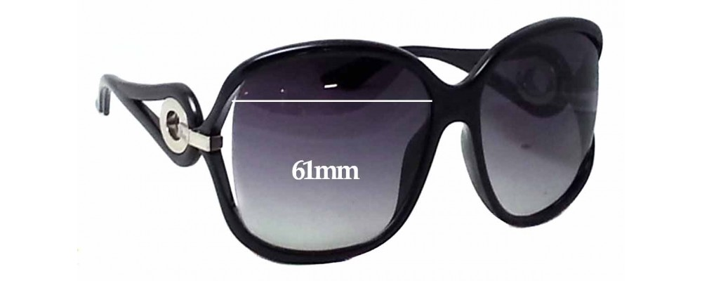 e61dae30322d5 Christian Dior Volute 2 Replacement Sunglass Lenses - 61mm Wide