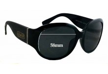 Coach 8016-CO Replacement Sunglass Lenses 58mm wide