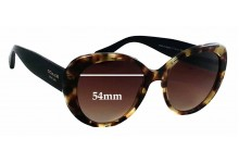 Coach Alexa 8049 Replacement Sunglass Lenses - 54mm wide