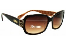 Coach Amelia Replacement Sunglass Lenses - 58mm wide