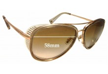 Coach Andie HC 7040 Replacement Sunglass Lenses - 58mm wide