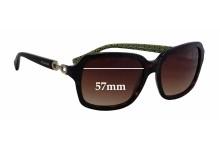 Coach Ashley HC8104 Replacement Sunglass Lenses - 57mm wide