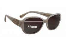 Coach Reese L022 Replacement Sunglass Lenses - 57mm wide