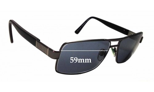 Country Road CR SunRx 03 Replacement Sunglass Lenses - 59mm Wide