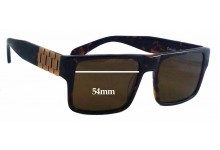 Crooks & Castles Comrade Replacement Sunglass Lenses - 54mm wide