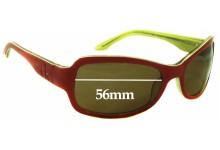 Calvin Klein 4043/S Replacement Sunglass Lenses - 56mm wide