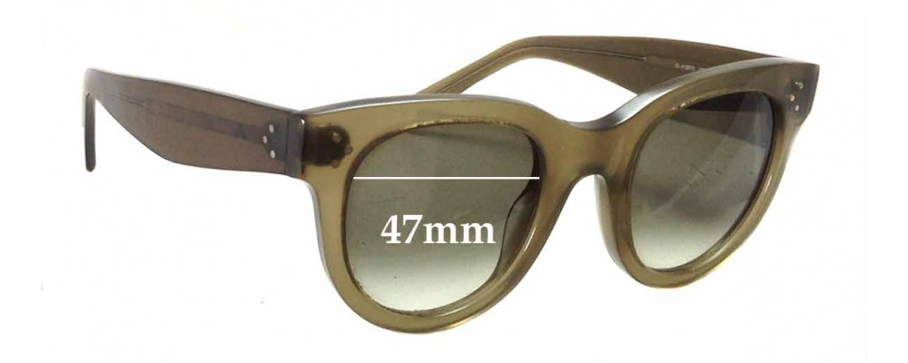 8e1b1828d4f Celine CL 41053 S Replacement Sunglass Lenses - 47mm wide