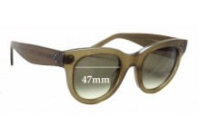 Celine CL 41053/S Replacement Sunglass Lenses - 47mm wide