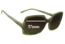 Celine SC1523 Replacement Sunglass Lenses - 57mm Wide