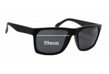 D'Blanc Cheap Thrill Replacement Sunglass Lenses - 59mm wide
