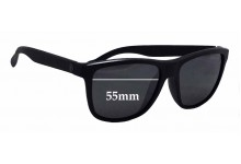 D'Blanc Last Laugh Replacement Sunglass Lenses - 55mm wide