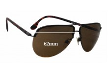 Diesel  DL0030 Replacement Sunglass Lenses - 62mm wide