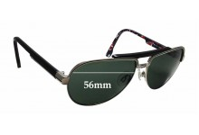 Diesel DL5033 Replacement Sunglass Lenses - 56mm wide