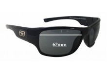 Dirty Dog Circuit Replacement Sunglass Lenses - 62mm wide x 42mm tall