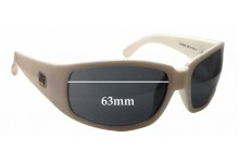 Dirty Dog Dr. Monk Replacement Sunglass Lenses - 63mm wide