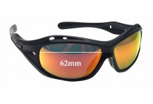 Dirty Dog Floating Curl II Replacement Sunglass Lenses - 62mm wide