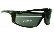 Dirty Dog Rapper Replacement Sunglass Lenses - 79MM wide  - Sorry we can not make lenses for these sunglasses