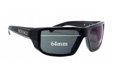 Dirty Dog Slasher Replacement Sunglass Lenses - 64mm wide