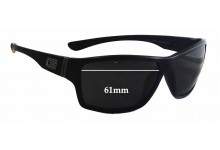 Dirty Dog Storm Replacement Sunglass Lenses - 61mm wide