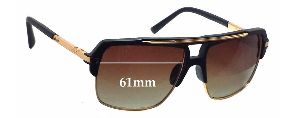30f79da4809 Dita Mach Four Replacement Lenses - 61mm wide