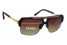 Dita Mach Four Replacement Sunglass Lenses - 61mm wide