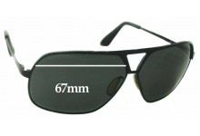 Dita Pusher Replacement Sunglass Lenses - 67mm wide
