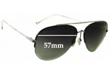 Dita Sparrow 21004A Aviator Replacement Sunglass Lenses - 57mm wide