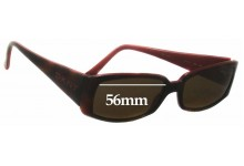 DKNY 4056 Replacement Sunglass Lenses - 56mm Wide