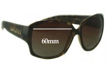 DKNY DY4069 Replacement Sunglass Lenses - 60mm Wide
