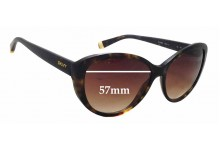 DKNY DY4084 Replacement Sunglass Lenses -  57mm wide x 46mm tall