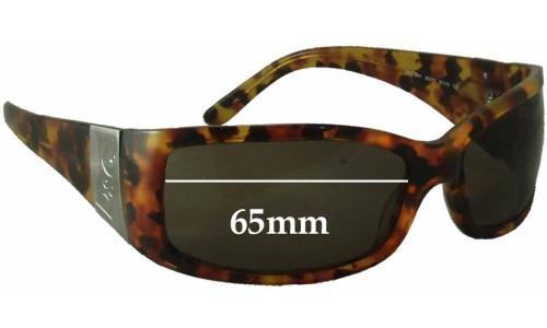 Dolce & Gabbana DG3001 Replacement Sunglass Lenses - 65mm wide