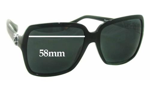 Dolce & Gabbana DG4164P Replacement Sunglass Lenses - 58mm wide