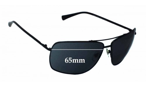 Dolce & Gabbana DD6090 Replacement Sunglass Lenses - 65mm Wide
