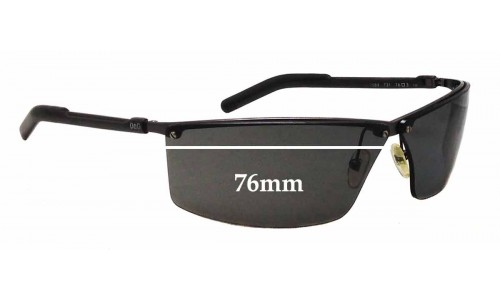 Dolce & Gabbana DG2084 Replacement Sunglass Lenses - 76mm wide