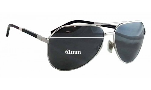 Dolce & Gabbana DG2067 Replacement Sunglass Lenses - 61mm wide