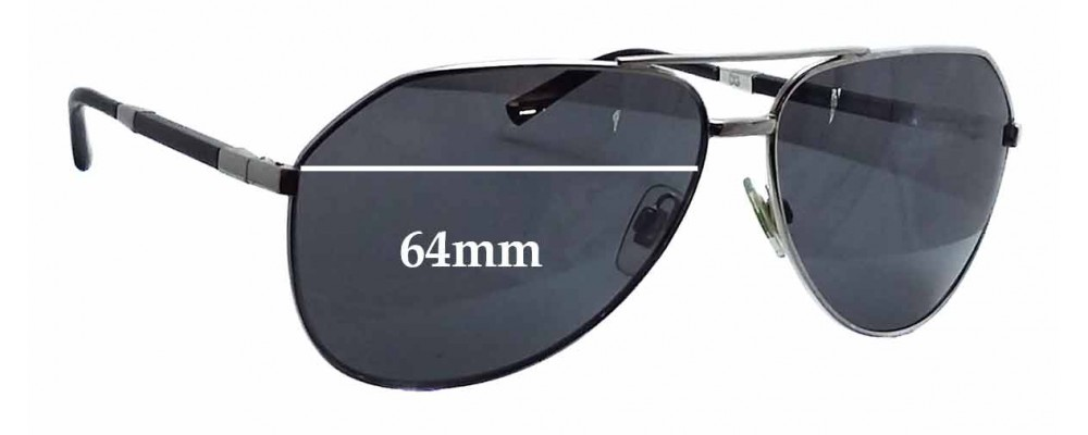 Dolce & Gabbana DG2067 Replacement Sunglass Lenses - 64mm wide