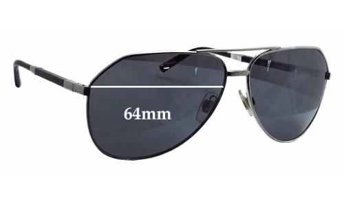 Dolce & Gabbana DG2067 Replacement Sunglass Lenses - 64mm wide