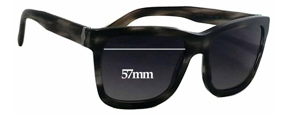 Dolce & Gabbana DG4161 Replacement Sunglass Lenses - 57mm wide
