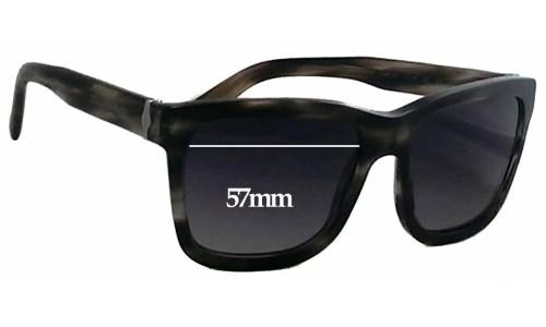 Dolce & Gabbana DG4161 Replacement Sunglass Lenses - 57mm wide