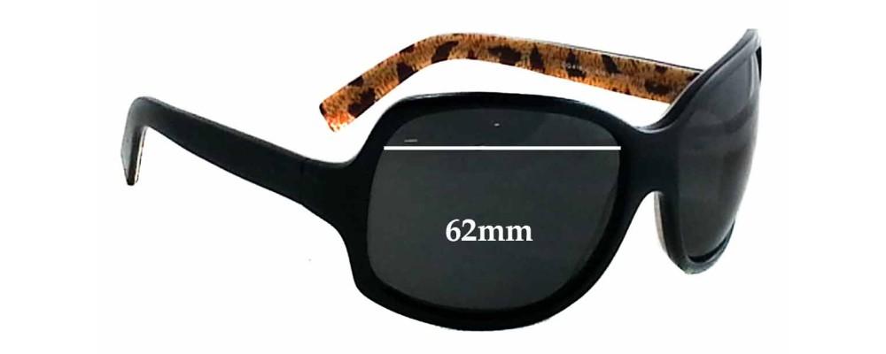 Dolce & Gabbana DG418S Replacement Sunglass Lenses - 62mm wide