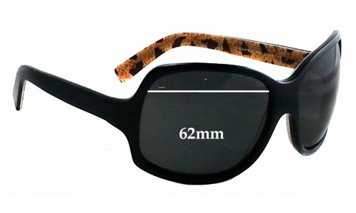 Dolce & Gabbana DG418S New Sunglass Lenses - 62mm wide