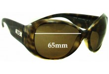 Dolce & Gabbana DG6041 Replacement Sunglass Lenses - 65mm Wide