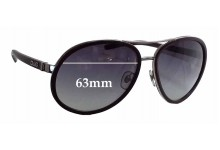 Dolce & Gabbana DG6048 Replacement Sunglass Lenses - 63mm wide