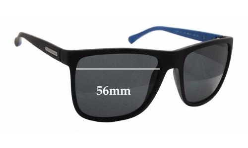 Dolce & Gabbana DG6086 Replacement Sunglass Lenses - 56mm wide x 45mm tall
