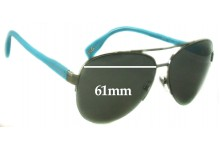 Dolce & Gabbana DG6092 Replacement Sunglass Lenses - 61mm wide