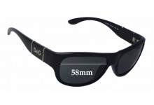 Dolce & Gabbana DG8050 Replacement Sunglass Lenses - 58mm wide