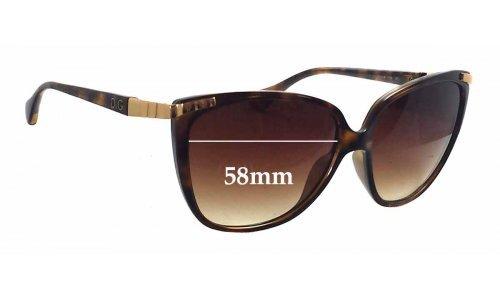 Dolce & Gabbana DG8096 New Sunglass Lenses - 58mm wide