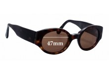 Dolce & Gabbana DG Unknown Replacement Sunglass Lenses - 47mm wide
